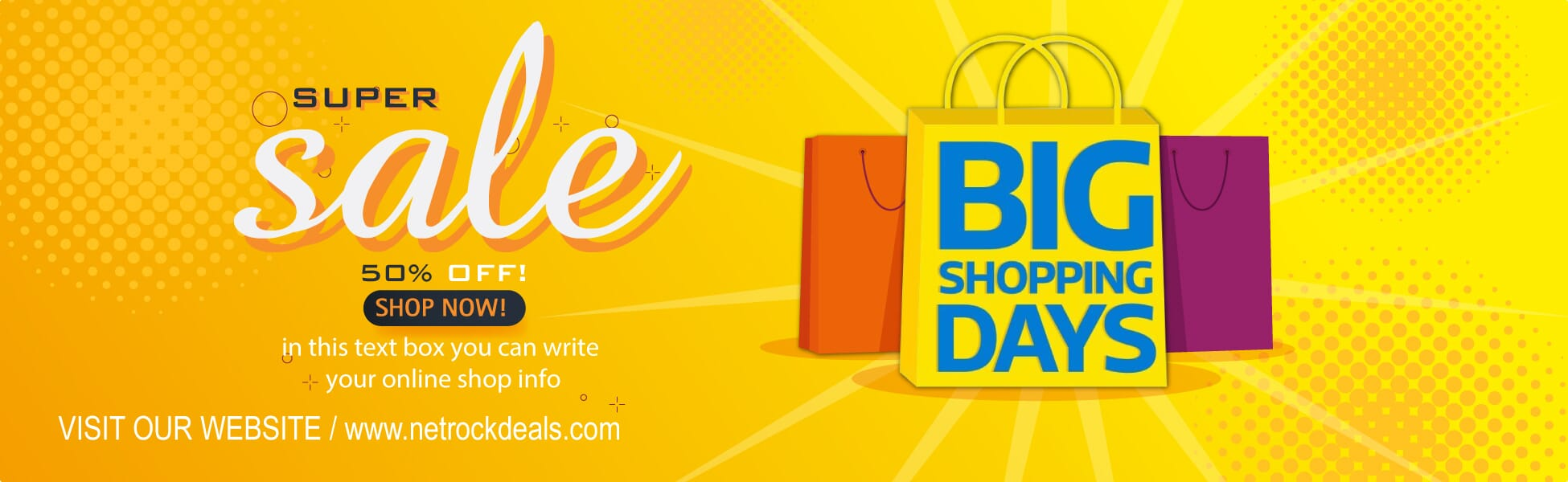 big shopping days sale
