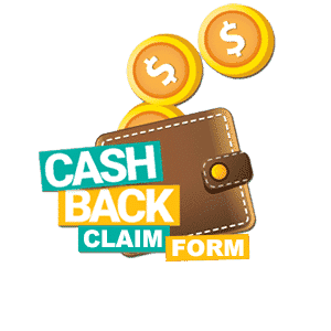 Cashback Claim Form