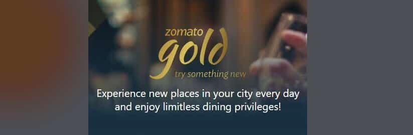 zomato gold annual membership