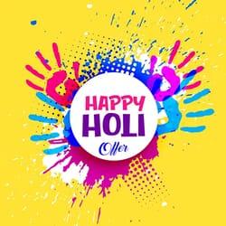 Happy Holi Offers, Happy Holi Coupons, Happy Holi Deals, Holi Offers, Holi Best Offers, Holi Coupons