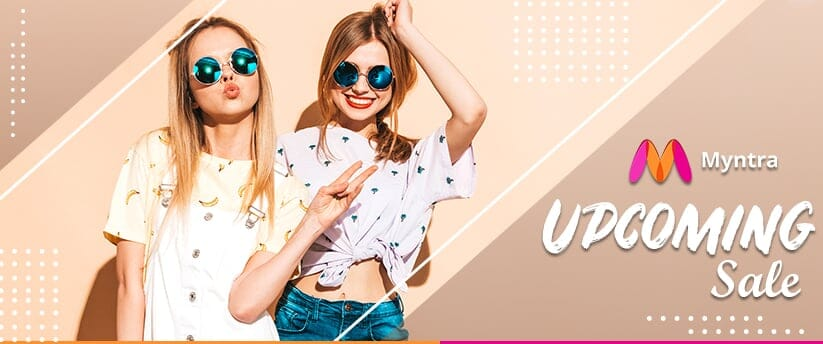 Myntra Upcoming Sale 2020 - Exciting offers