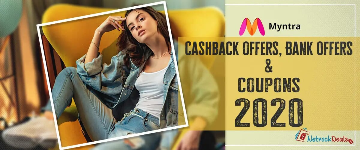 Myntra Cashback Offers Bank Offers & Coupons 2020