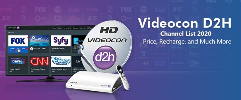 Videocon D2H Package Channel List with Price