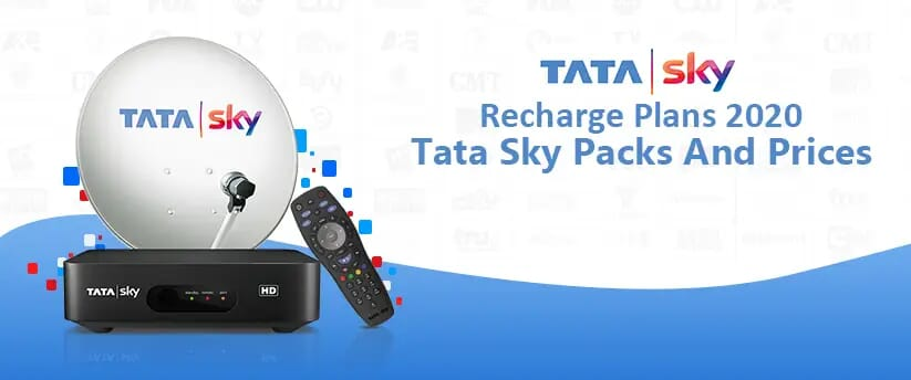 Tata Sky Packages And Recharge plan list