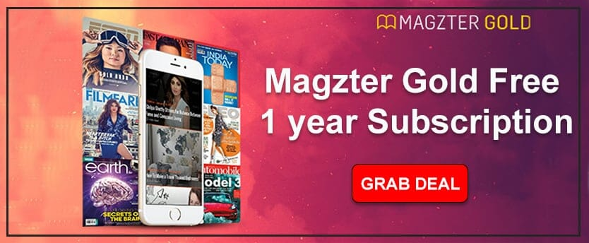 Magzter Gold Free 1 year Subscription