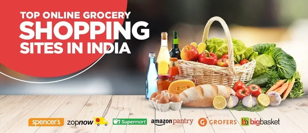 Top Online Grocery Shopping Sites in India