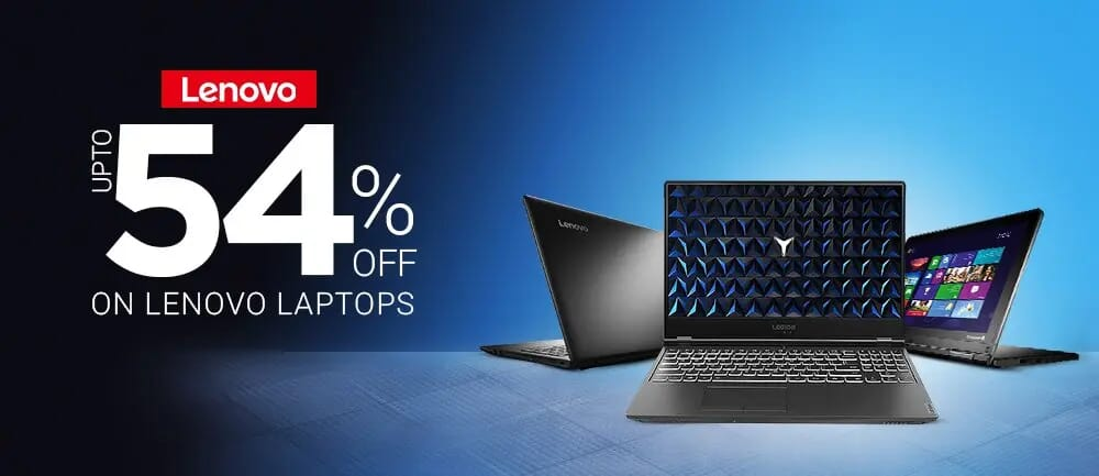 Lenovo Gaming Laptops Sale | Upto 54% OFF on Lenovo Laptops