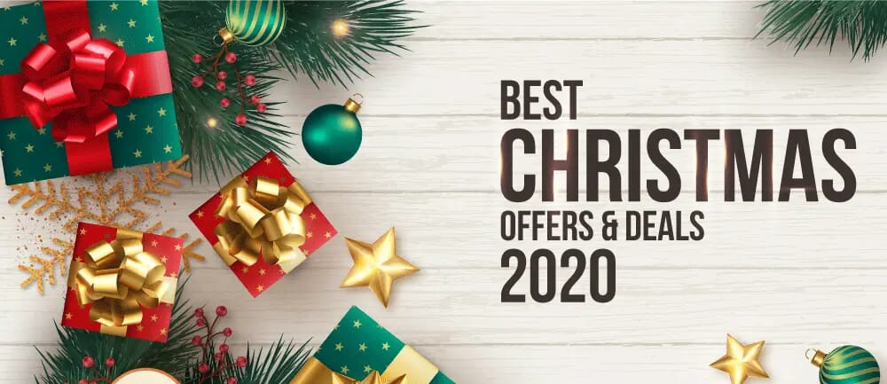 christmas offers and deals 2020
