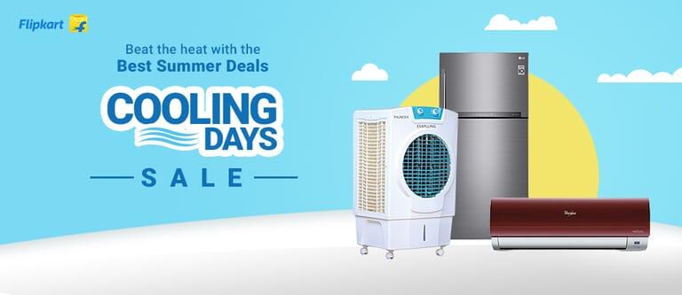 flipkart cooling day sale