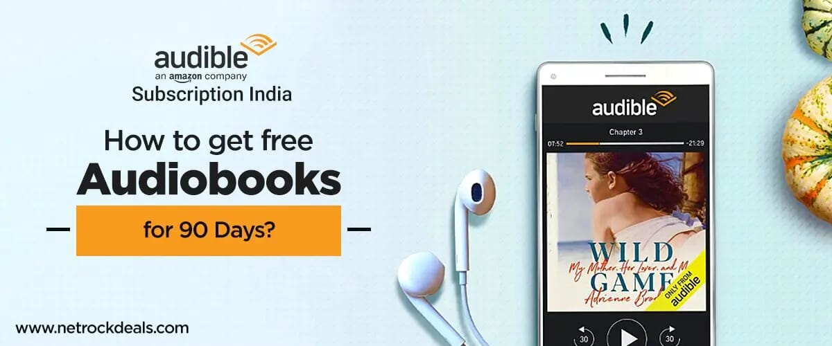Amazon Audible Subscription India: How to get free Audiobooks for 90 days?